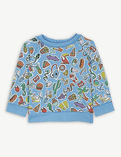 a085886a26a7 STELLA MCCARTNEY Toys and Food sweatshirt 6-36 months