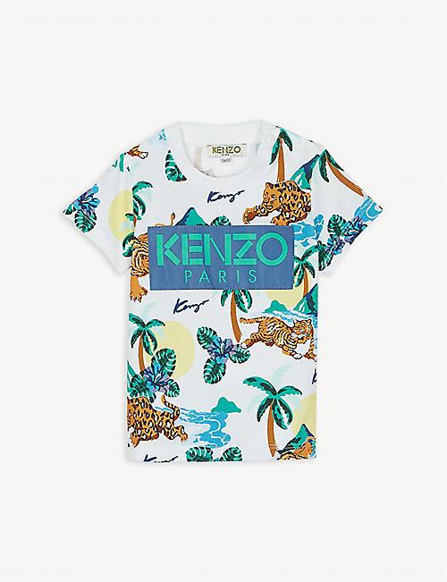 b721d6cd4b9 KENZO Hawai cotton T-shirt 6-18 months