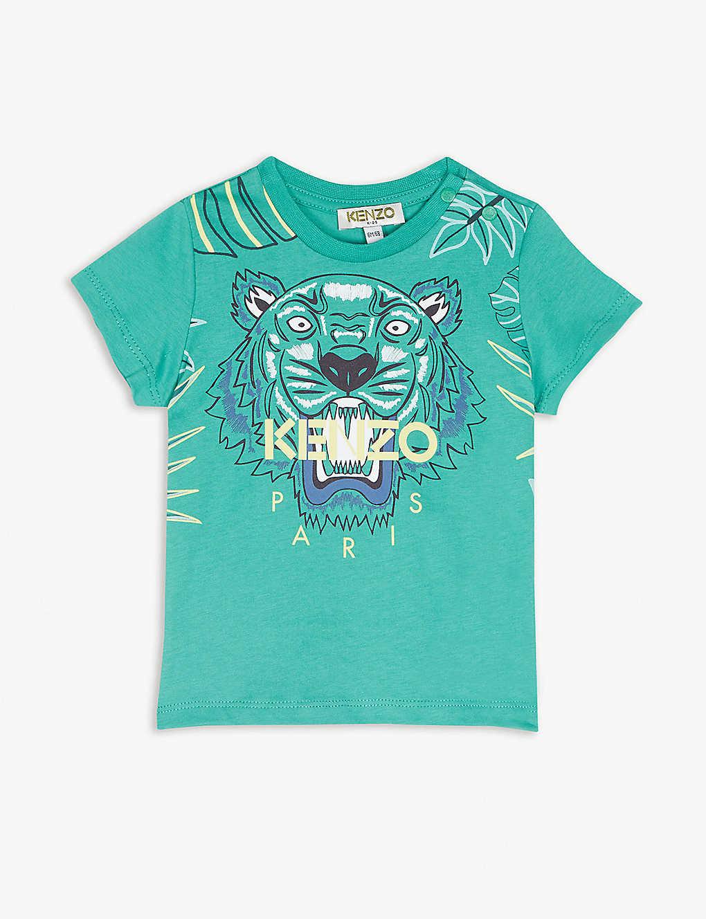 96a5980a KENZO - Logo cotton T-shirt 6-18 months | Selfridges.com