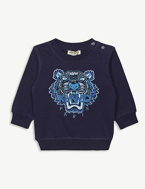 90c7ab84112cd KENZO - Tops - Boys clothes - Baby - Kids - Selfridges