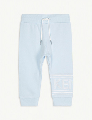 KENZO Logo detail jogging bottoms 6-36 months