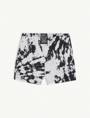 SSS WORLD CORP Tie-dye print quick-drying swim shorts 3-36 months