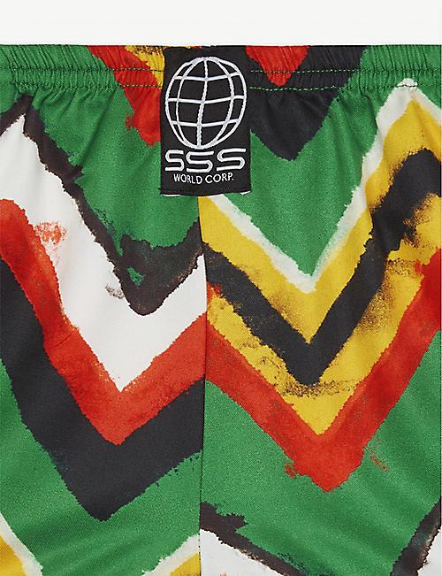c42acd96b2 SSS WORLD CORP Stripe print quick-drying swim shorts 3-36 months
