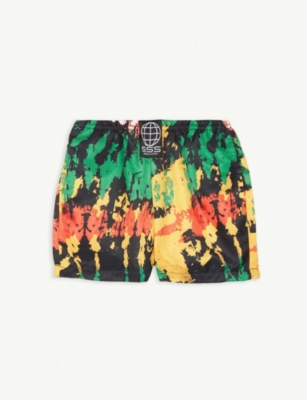 SSS WORLD CORP Tie-dye print swimshorts 3-36 months