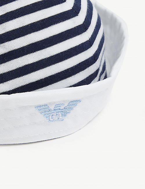 EMPORIO ARMANI Sailor hat