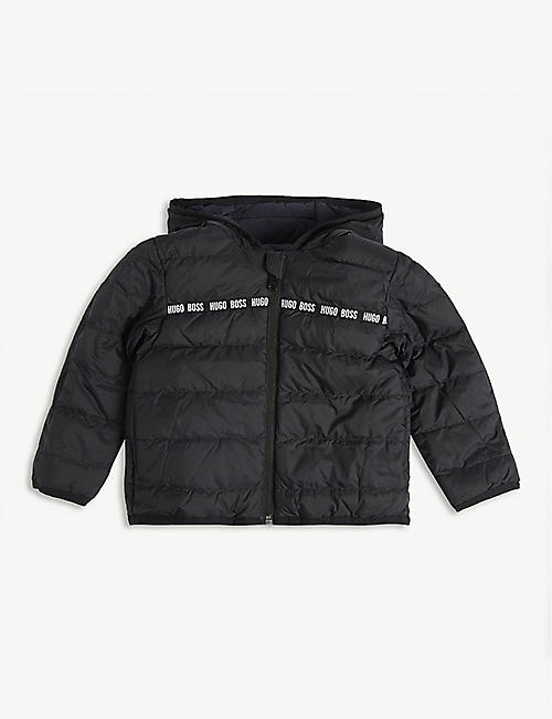 BOSS Reversible down-filled puffer jacket 6-36 months