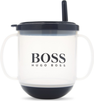 BOSS Logo sippy cup