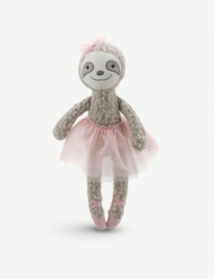 THE PUPPET COMPANY Wilberry Dancers ballerina sloth soft toy