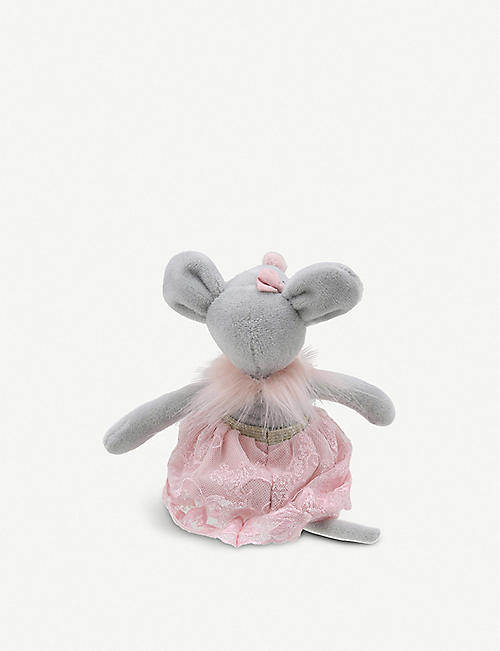 THE PUPPET COMPANY Mouse in skirt soft toy