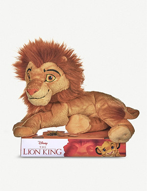 LION KING The Lion King Mufasa soft toy 35cm