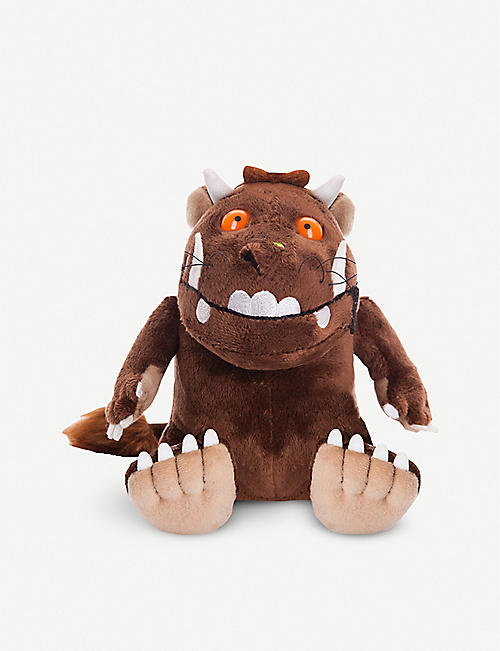 GRUFFALO: The Gruffalo sitting soft toy 22.8cm