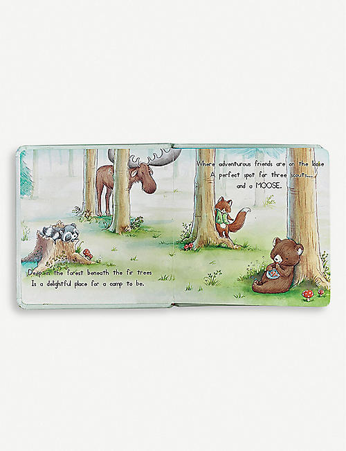 BUNNIES BY THE BAY Camp Cricket hardback book