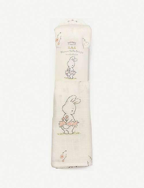 BUNNIES BY THE BAY: Tutu swaddle blanket 120cm
