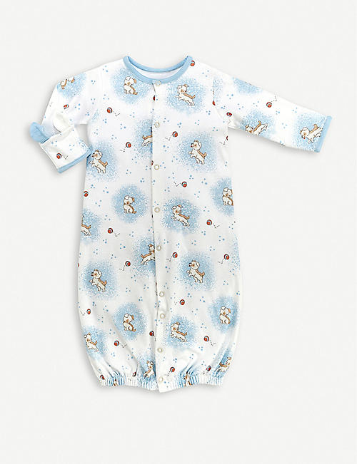BUNNIES BY THE BAY Skipit convertible baby-grow 3-6 months