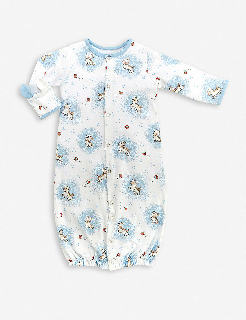 BUNNIES BY THE BAY: Skipit convertible baby-grow 3-6 months