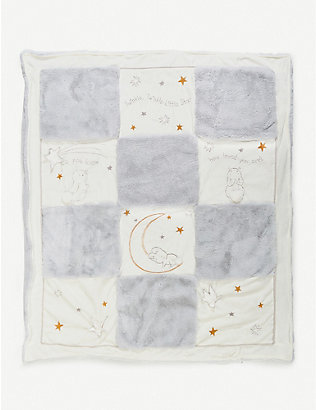 BUNNIES BY THE BAY: Little Star embroidered quilt