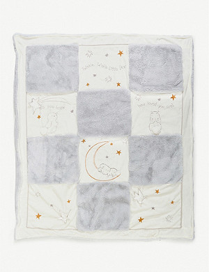 BUNNIES BY THE BAY Little Star embroidered quilt