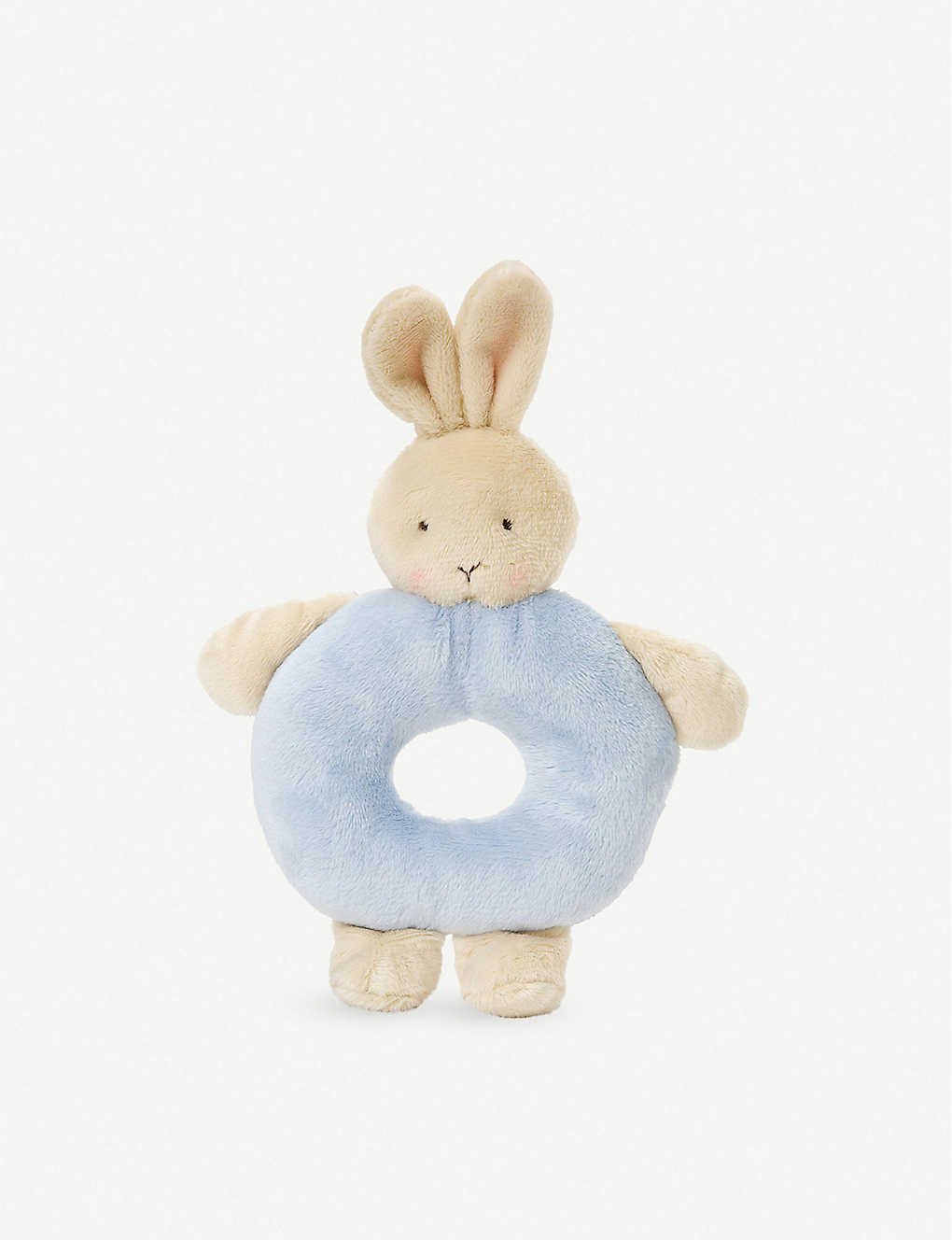 BUNNIES BY THE BAY: Bunny plush ring rattle 18cm