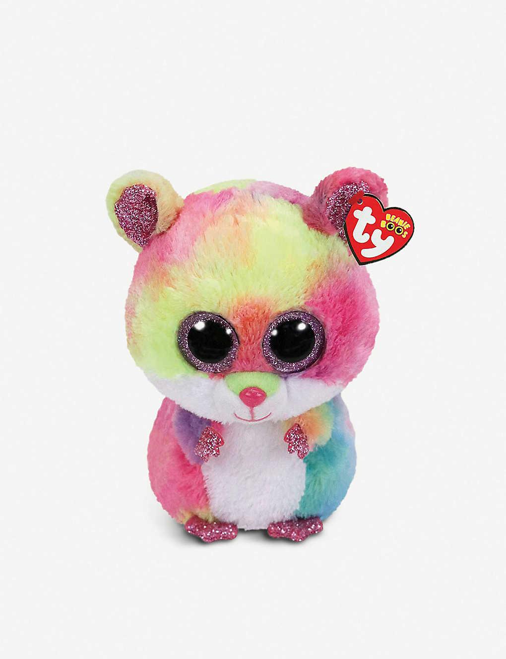 72618aa6809 TY - Beanie Boo Rodney hamster soft toy 10cm