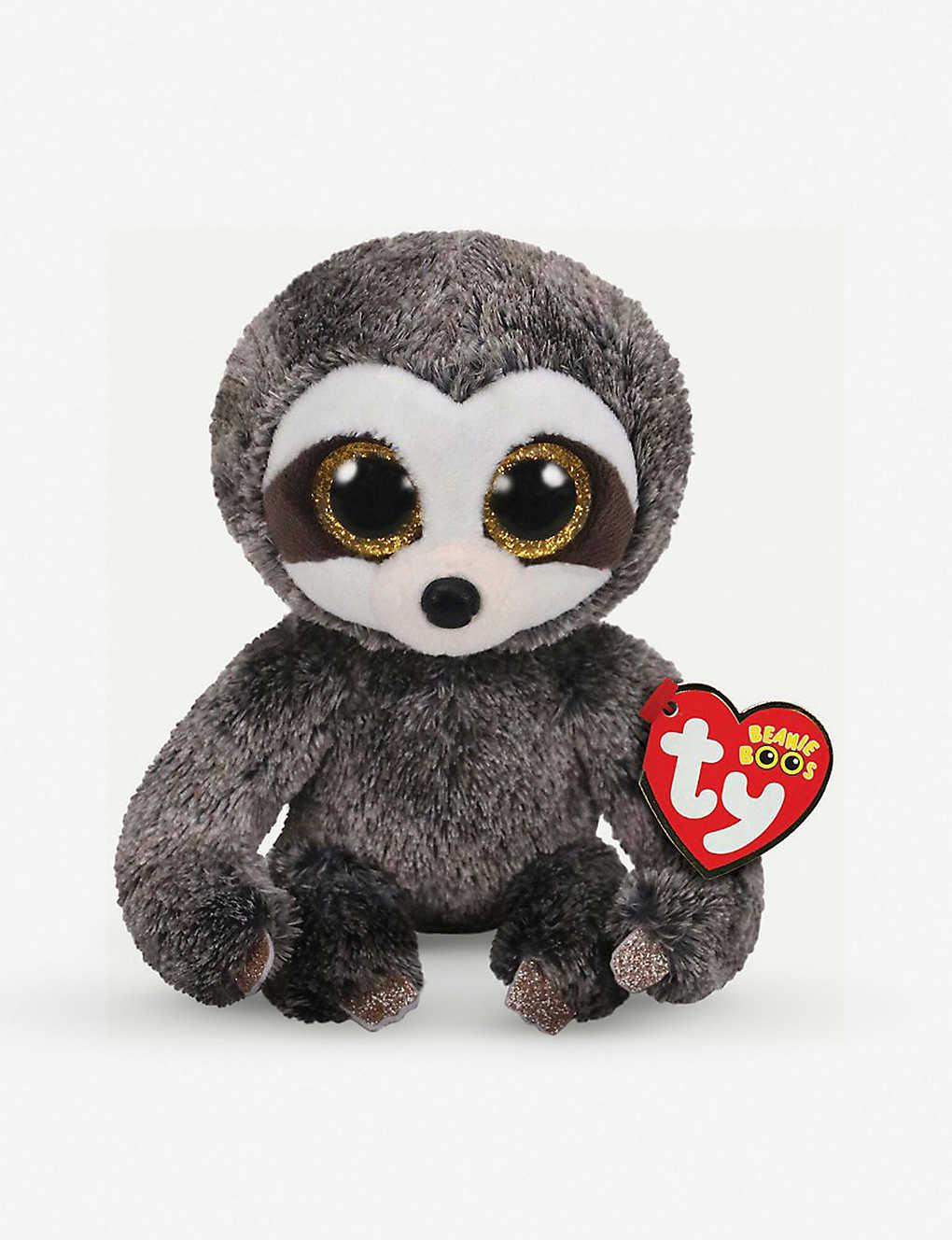 TY - Beanie Boo Dangler sloth soft toy 10cm   Selfridges com