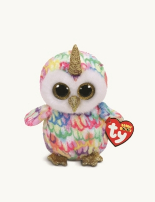 TY Beanie Boo Enchanted owl soft toy 10cm