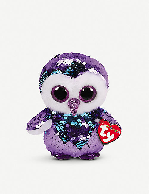 TY Moonlight Flippable sequin beanie boo 10cm 442f10ca7e6a