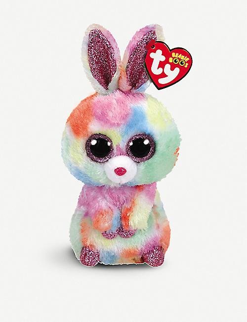 c522ca1f3f6 TY Beanie Boo Easter Bloomy bunny soft toy 15cm