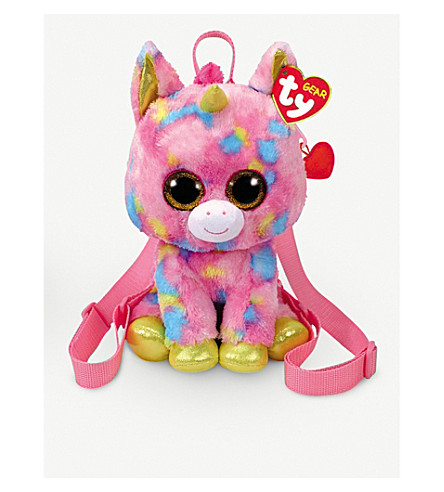 """09932c94330 TY - TY Beanie Boo Fantasia the Unicorn Backpack 9"""""""