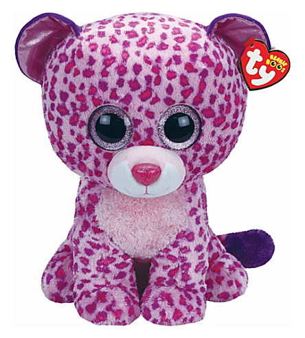 23859f05da1 TY - Beanie Boo glamour leopard soft toy 42cm