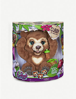FURREAL: Cubby the Curious Bear interactive plush toy