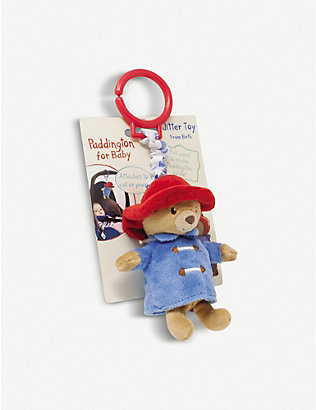 PADDINGTON BEAR: Paddington Bear jitter soft toy