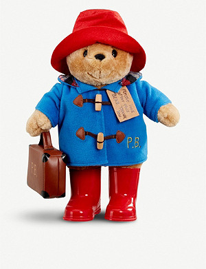 PADDINGTON BEAR Paddington with boots and suitcase