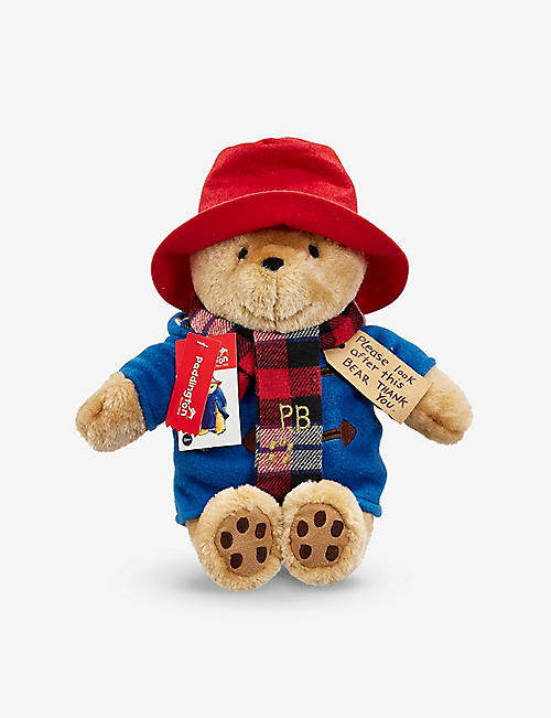 PADDINGTON BEAR :大Paddington Bear有围巾