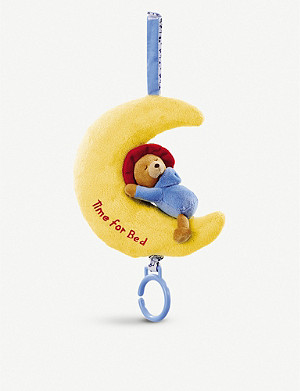 PADDINGTON BEAR Paddington Bear bed musical toy
