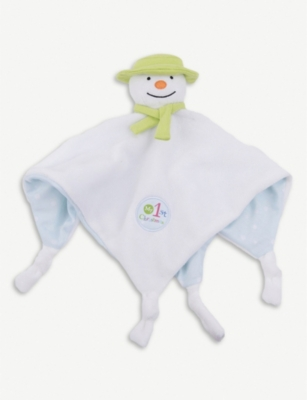 SNOWMAN & THE SNOWDOG The Snowman comforter soft toy