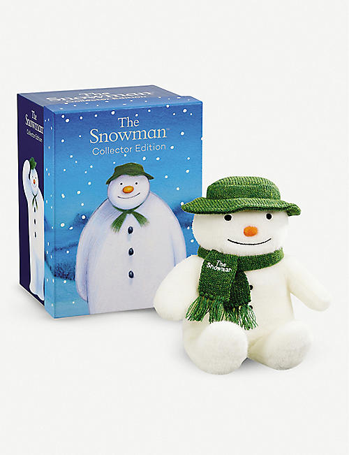 SNOWMAN & THE SNOWDOG The Snowman collector's edition soft toy 37cm