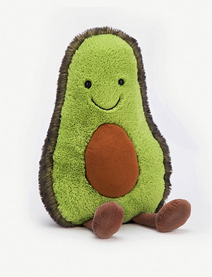 JELLYCAT Amuseable Avocado huge soft toy 52cm