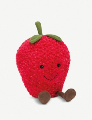 JELLYCAT Amuseable Strawberry soft toy 27cm