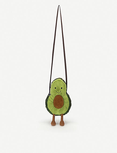 JELLYCAT: Amuseable Avocado bag 29cm
