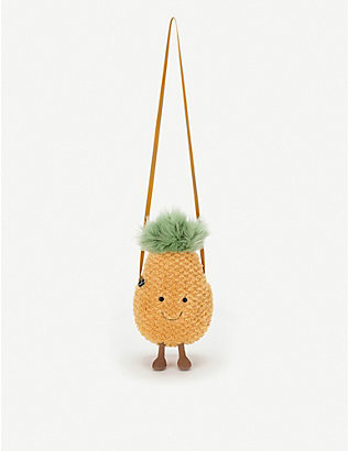 JELLYCAT: Amusable Pineapple bag 33cm