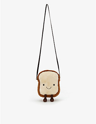 JELLYCAT: Amuseable Toast cross-body bag