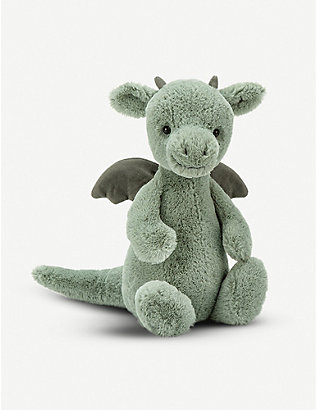 JELLYCAT: Bashful Dragon medium medium soft toy 31cm