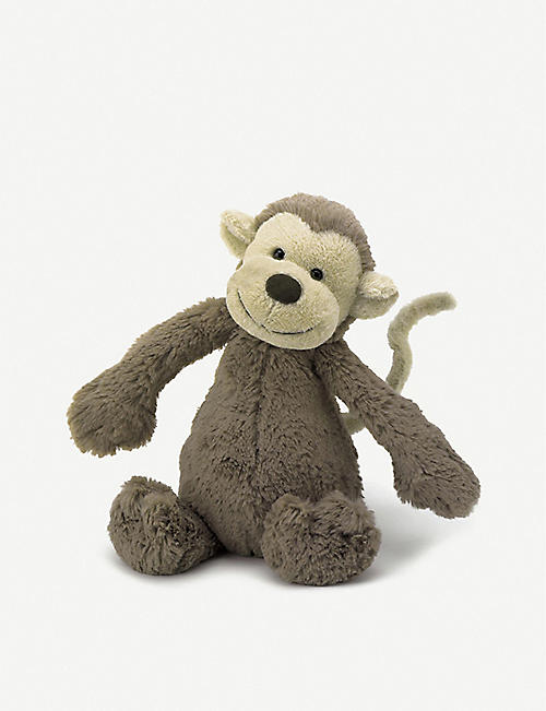 JELLYCAT: Bashful Monkey small soft toy 18cm