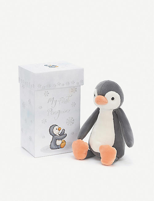 JELLYCAT My First Penguin soft toy 18cm