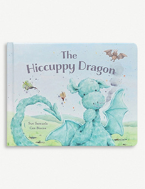 JELLYCAT The Hiccupy Dragon story book