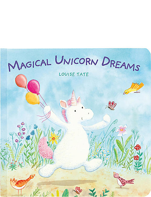 JELLYCAT Magical Unicorn Dreams story book