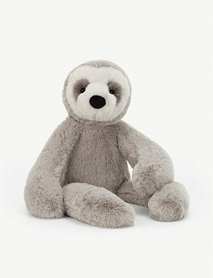 JELLYCAT Scrumptious Bailey sloth large soft toy 41cm