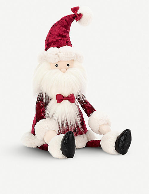 JELLYCAT Cranberry Santa soft toy 51cm