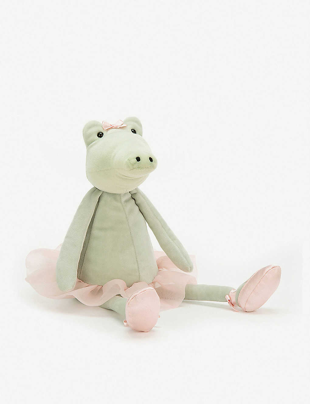 JELLYCAT: Dancing Darcey alligator soft toy 33cm