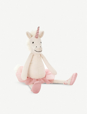 JELLYCAT Dancing Darcey unicorn soft toy